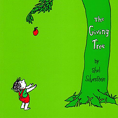 selflessness versus selfishness in the giving tree by shel silverstein While others have explored the abusive undertones of the giving tree, the most popular interpretations call it a parable, claiming the tree represents either god or a parent telling kids that god is a magic tree that will give you money, a house and a boat if you just ask is a little misleading.