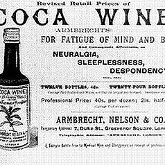 Pemberton's French Wine Coca Headache Remedy